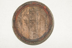 Oud biervat Royalty-vrije Stock Fotografie