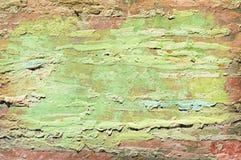 Oud blad met kleurrijke lagenachtergrond Stock Fotografie