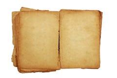 Oud boek Stock Foto's