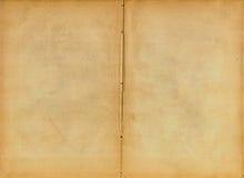Oud boek (aftasten). Royalty-vrije Stock Afbeeldingen
