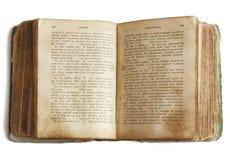 Oud boek (Bijbel) stock foto