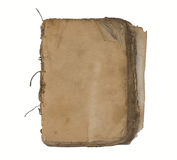 Oud boek met blanco pagina's. Royalty-vrije Stock Afbeeldingen