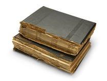 Oud boek met een gravure. Royalty-vrije Stock Afbeeldingen