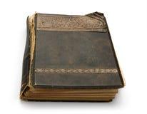 Oud boek met een gravure. Royalty-vrije Stock Foto