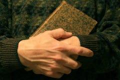 Oud Boek met Titel Blanked. Stock Fotografie