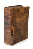 Oud boek in verticaal Stock Afbeelding