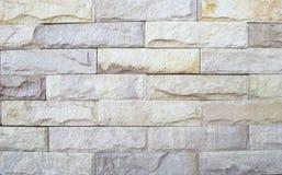 Oud Bruin Bakstenen muurpatroon De achtergrond van de muur Stock Afbeelding