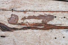 Oud bruin houten bureau Het concept van de aard De achtergrond van de aard royalty-vrije stock foto's