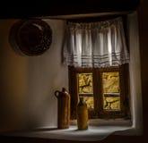 Oud Bulgaars huis Тraditional in Koprivshtica, Bulgarije Stock Fotografie
