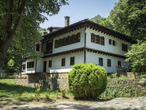 Oud Bulgaars Huis Stock Fotografie
