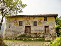 Oud Bulgaars klooster Royalty-vrije Stock Afbeelding