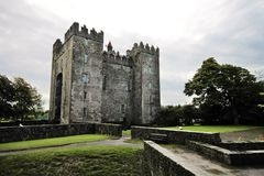 Oud Bunratty-Kasteel, Ierland Royalty-vrije Stock Afbeelding