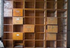 Oud bureaukabinet royalty-vrije stock fotografie