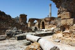 Oud Carthago stock afbeelding