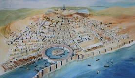 Oud Carthago royalty-vrije stock foto's