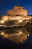 Oud Castel Sant ' Angelo, Rome, Italië Stock Afbeeldingen