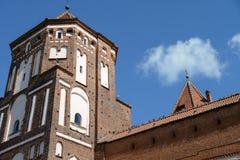 Oud centrum van Belorussia stad Stock Fotografie