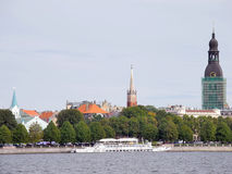 Oud centrum van Riga Stock Afbeelding