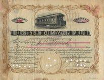 Oud Certificaat 3 van de Voorraad Stock Foto's