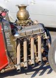 Oud Chevrolet 8 cilindermotor Royalty-vrije Stock Foto