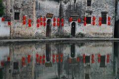 Oud Chinees dorp in Zuid-China, hongcun Royalty-vrije Stock Afbeeldingen