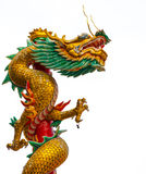 Oud Chinees Dragon Statue Royalty-vrije Stock Foto's