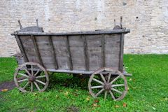 Oud Chuck Wagon Stock Fotografie