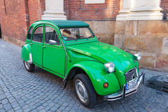 Oud Citroën 2CV Stock Foto's