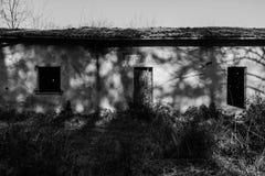 Oud concentratiekamp Le Fraschette, Alatri, Italië stock fotografie