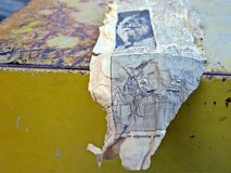 Oud dagboek, oude problemen Royalty-vrije Stock Afbeeldingen