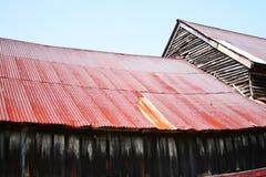 Oud dak royalty-vrije stock fotografie