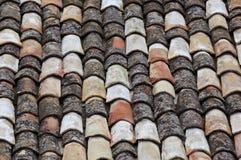 Oud dak Stock Fotografie