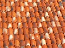 Oud dak in Motovun royalty-vrije stock fotografie