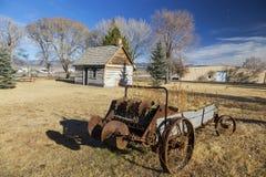 Oud de Erfenispark Panguitch Utah de V.S. van de het Westen Mormoons Pionier stock afbeelding