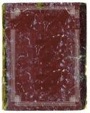 Oud de notaboek van de jaren '20stijl met vastgebonden randen Stock Afbeeldingen