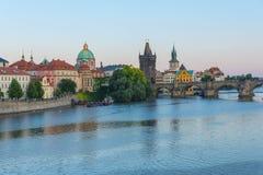 Oud de stad in van Praag Royalty-vrije Stock Foto's