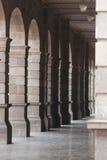 Oud de stadsherenhuis van Puebla royalty-vrije stock fotografie