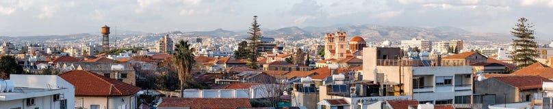 Oud deel van Limassol, Cyprus Stock Foto's