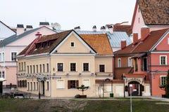 Oud deel van Minsk Royalty-vrije Stock Foto's