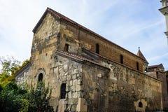 Oud deel van Tbilisi royalty-vrije stock afbeelding