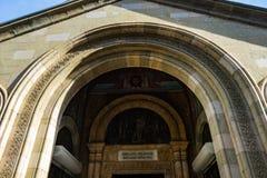 Oud deel van Tbilisi stock fotografie