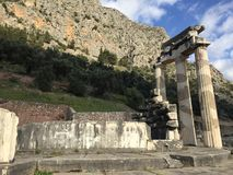 Oud Delphi Royalty-vrije Stock Afbeelding