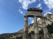 Oud Delphi Stock Foto's