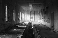 Oud depot stock fotografie