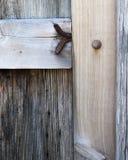 Oud deurdetail Stock Foto