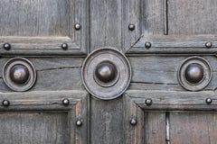 Oud deurdetail Stock Fotografie