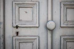Oud deurdetail Stock Afbeeldingen