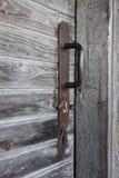 Oud deurhandvat Stock Afbeeldingen