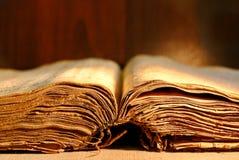 Oud dik boek Royalty-vrije Stock Foto