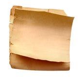 Oud document Stock Afbeelding